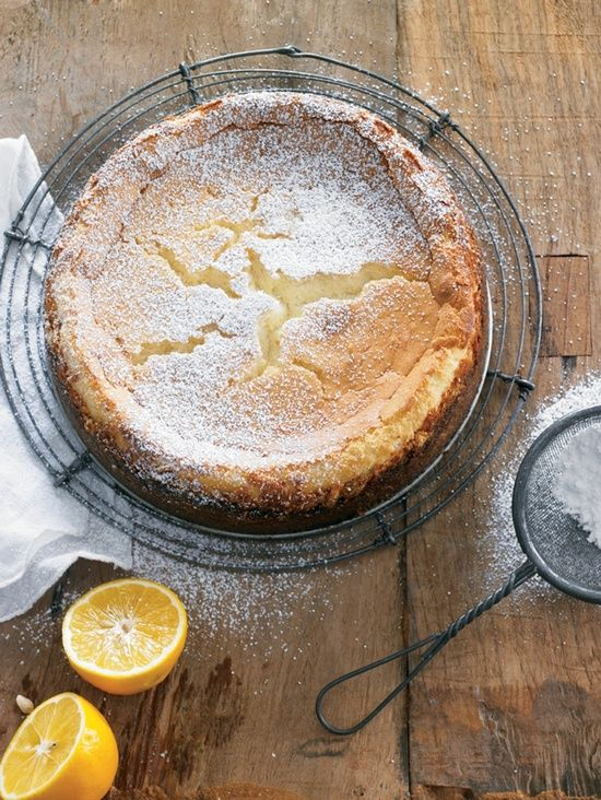 Cheesecake.  Lemon.  Yes