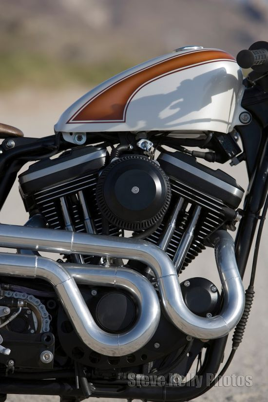 Harley Sportster Cafe Racer Mulato ~ Return of the Cafe Racers