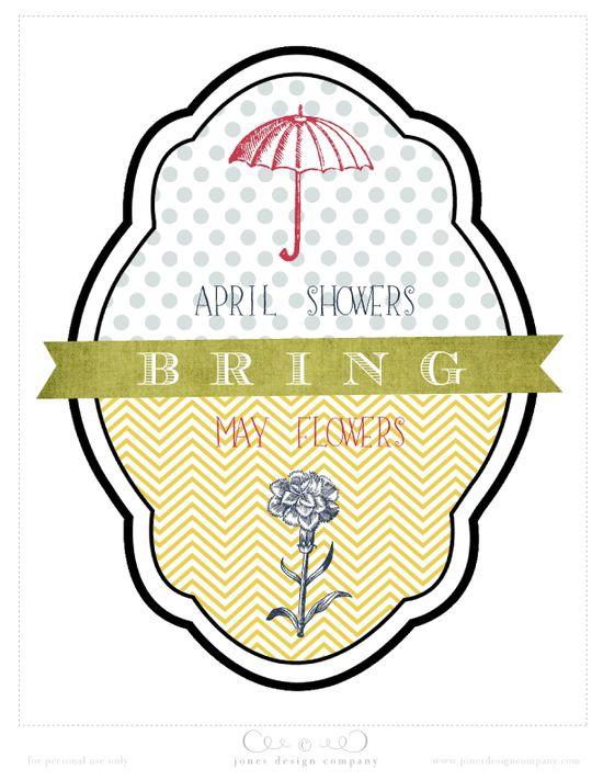 {free} spring art print