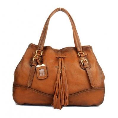 Prada Tassel Handbag
