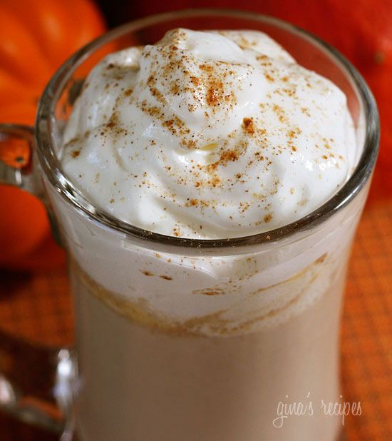 Skinny Pumpkin Spiced Latte - For the #pumpkin obsessed, a low fat, low calorie spiced latte you can make yourself.