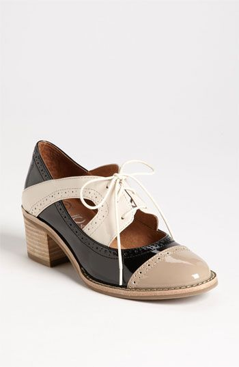 Patent & Preppy: Jeffrey Campbell 'Logan' Oxford #Nordstrom