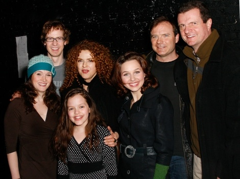 Drew McVety w/ the cast of Sunday in the Park with George:  broadwayworld.com...