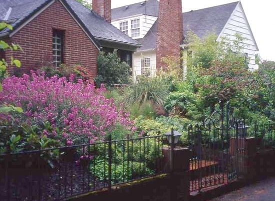 Stone Plantings Mosaic Garden Design