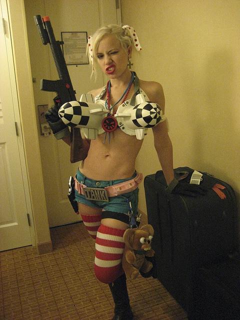 Tank girl cosplay!