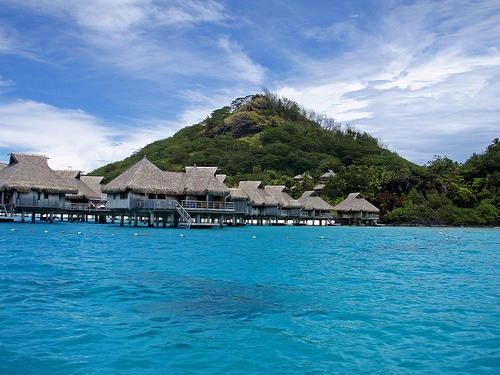 Bora Bora, Tahiti looks breath-taking. One day, we shall meet.