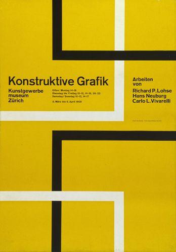 poster by Hans Neuburg (1958)