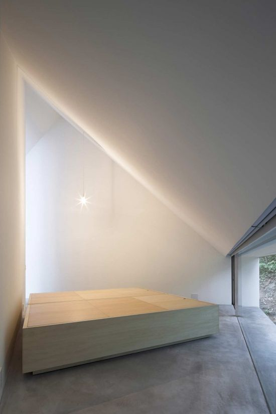 'And there was light, and He saw that is was good'. The Forest Bath by Kyoko Ikuta Architecture Laboratory.