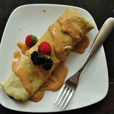 A Reader Recipe: Gluten-Free Protein Crepes