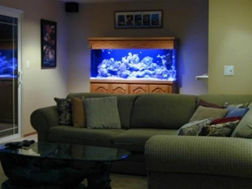 aquarium in home interior decorating 3