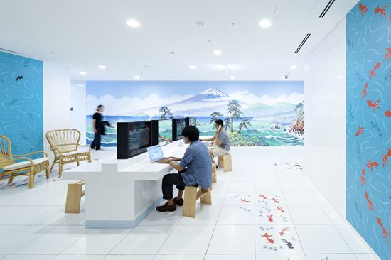 Googles Newest Tokyo Offices