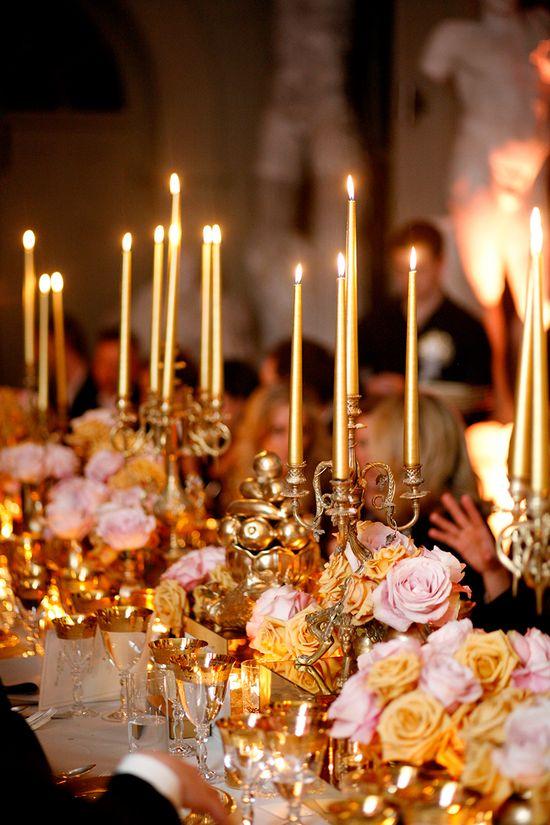 elegant candlelight.....