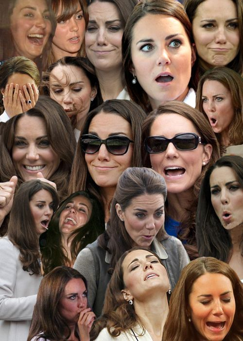 The many faces of Kate