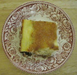 Lemon Blueberry Ricotta dessert