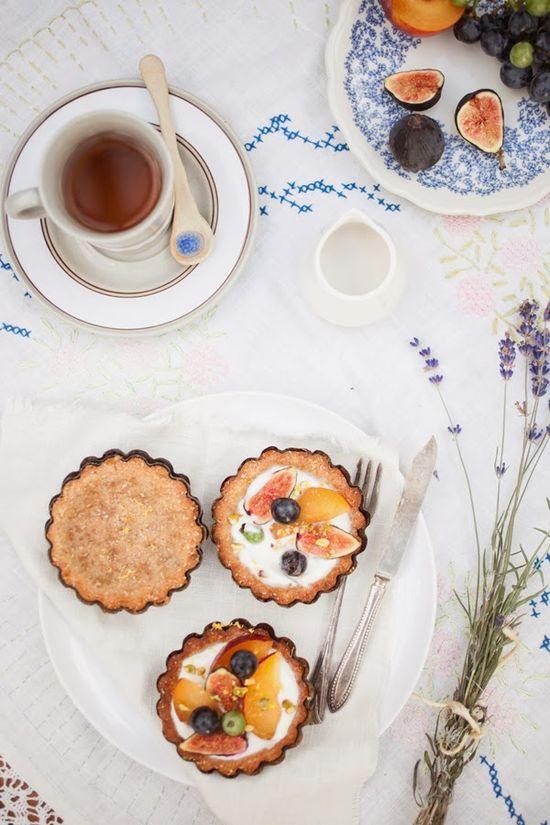 Bella Bonito - Afternoon Tea Party with Fresh Fruits Tarts