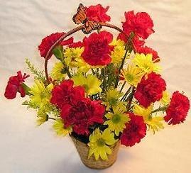Artistic Flower Arrangement ideas. FREE floral arranging lesson