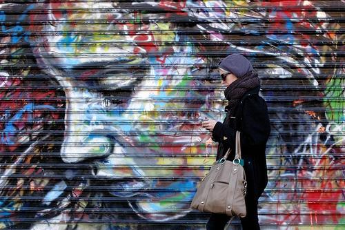 NYC David Walker street art