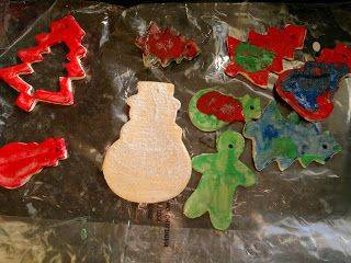 Le Baby Bakery: Saltdough Decorations