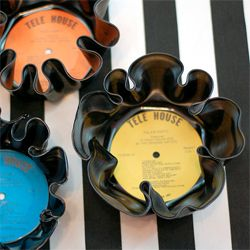 DIY Vinyl Record Bowls