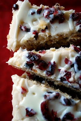 Cranberry Bliss Bars - Recipes, Dinner Ideas, Healthy Recipes & Food Guide