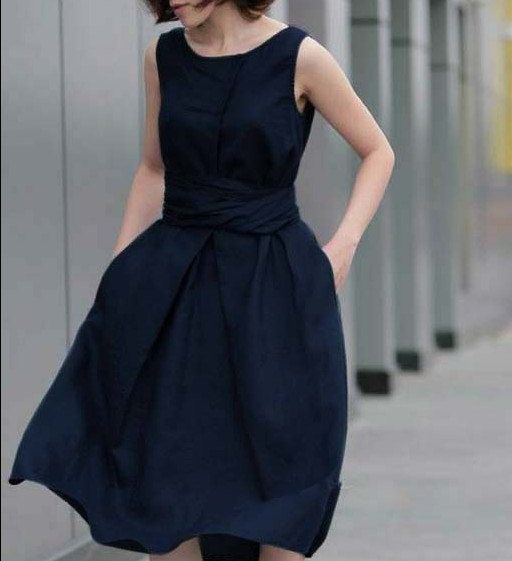 """Long Linen Skirt."""