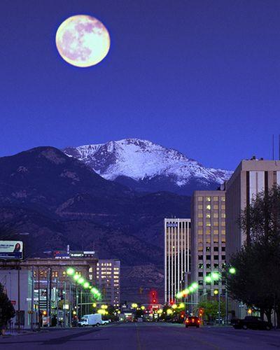 Downtown Colorado Springs, Colorado