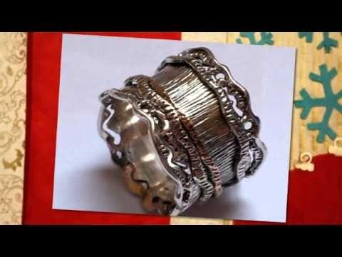 Bluenoemi Meditation Rings Spinner Rings Israeli Jewelry