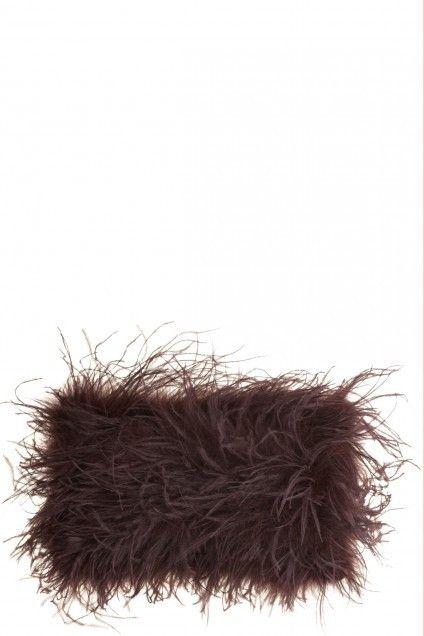 For the Exotic Globetrotter: Ostrich Pillow by Maison de Vacances