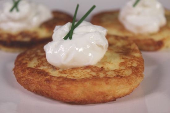 Mashed Potato Pancakes - from @Cooks Recipe Collection