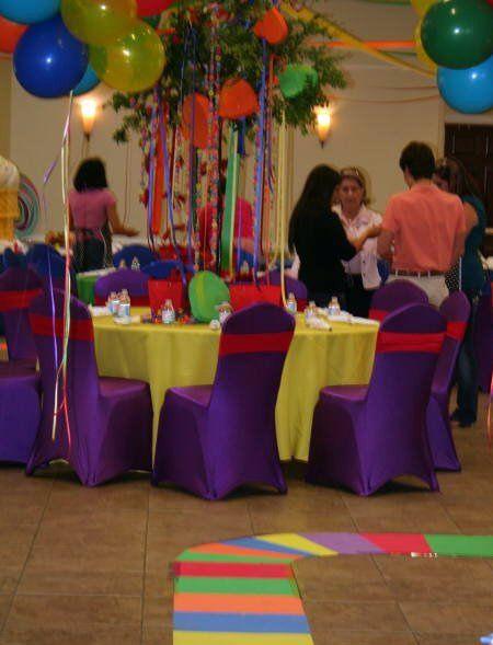 Candyland Tables