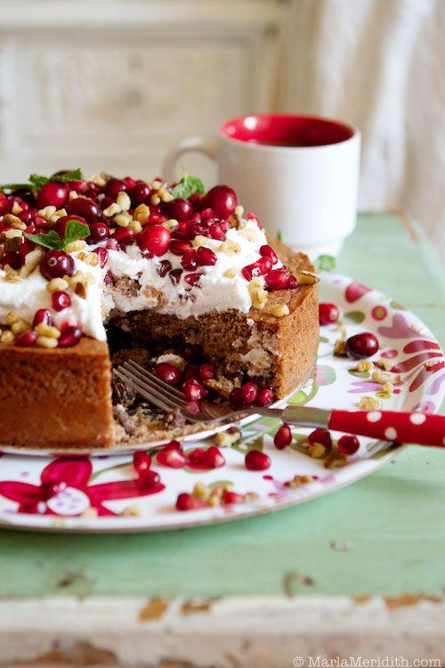 Cinnamon Coffee Cake with Coconut Cream from @Marla Landreth Landreth Landreth Meridith