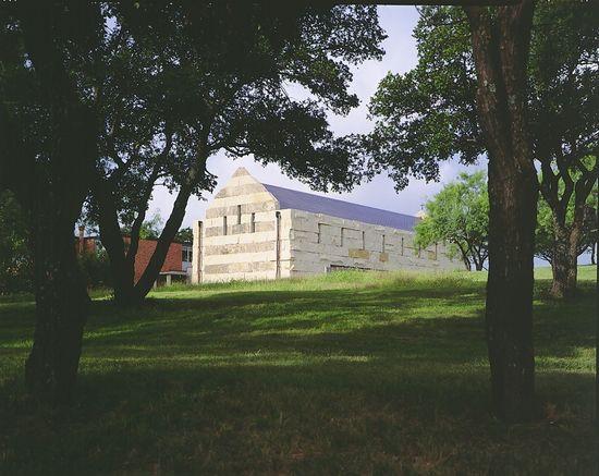 Cistercian Abbey Church in Texas by Cunningham Architects