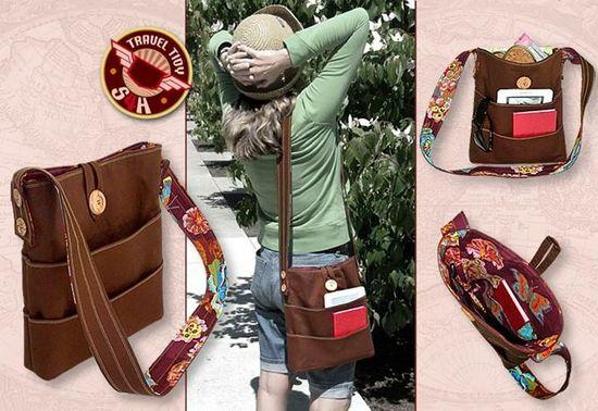 Travel Accessories Plenty of Pockets ! - Tutorial
