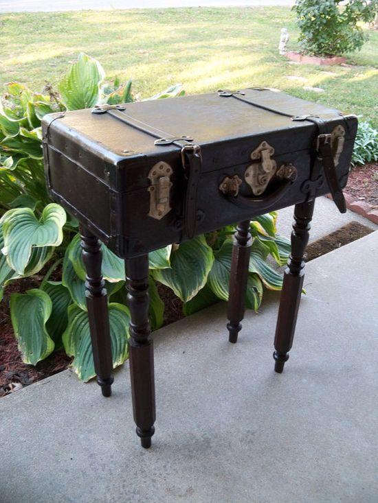 Vintage Suitcase Table