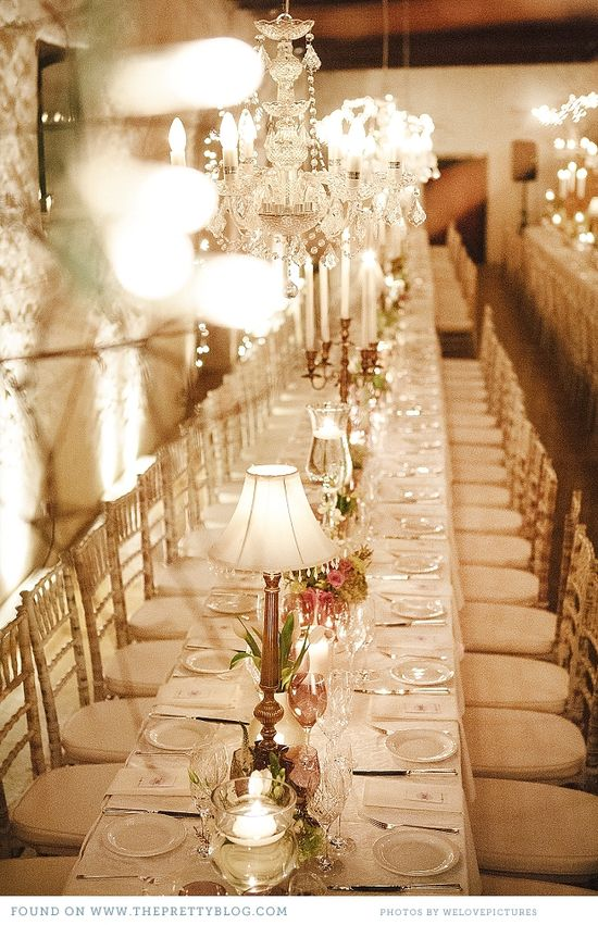 Romantic & soft Wedding decor. Image: Welovepictures.
