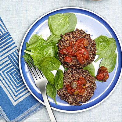 What can you make with Quinoa? These delicious and filling Quinoa Pancakes are our favorite idea!