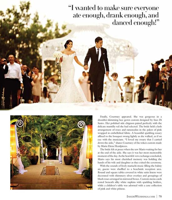 Recent Press: Celebrity Wedding – Mario Lopez