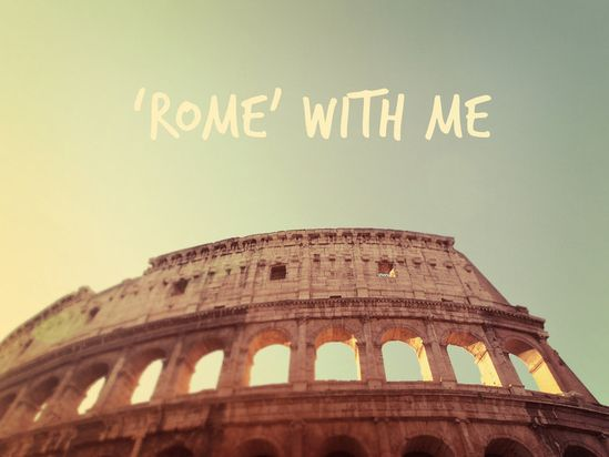 Colosseum. Fine Art Photography. Roman Architecture. Rome Italy. Typography. Home Decor.