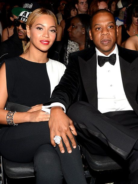 Beyonce and Jay Z... power couple.