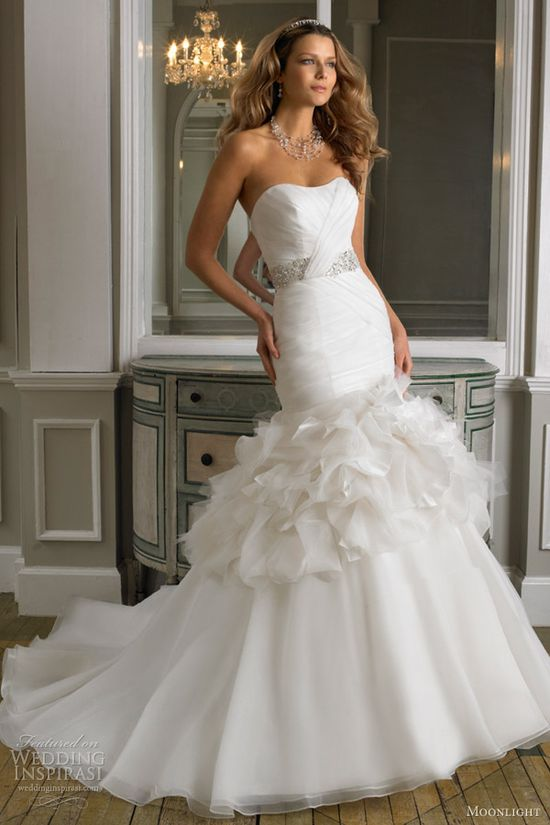 moonlight wedding dresses fall 2012