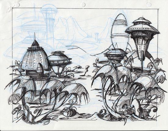 Ratchet & Clank Concept Art by PlayStation.Blog, via Flickr