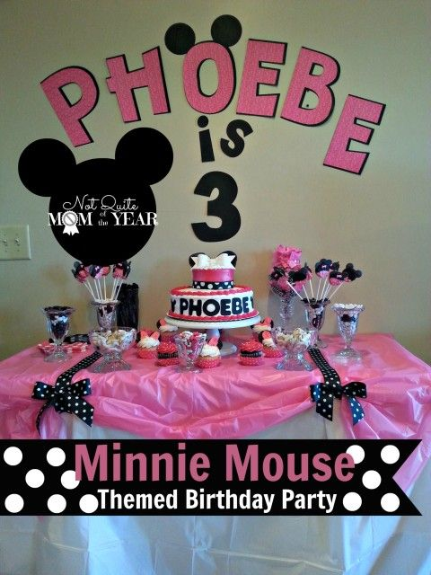 Minnie Mouse Party Theme main