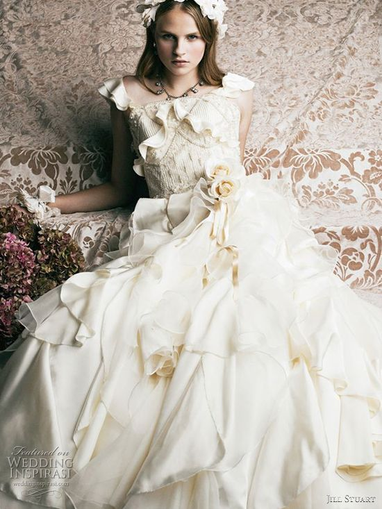 2011 Jill Stuart bridal wedding dress collection  - romantic gowns for princess brides