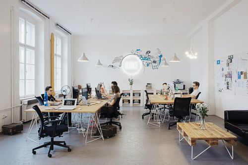 Bubble Office Design Prague