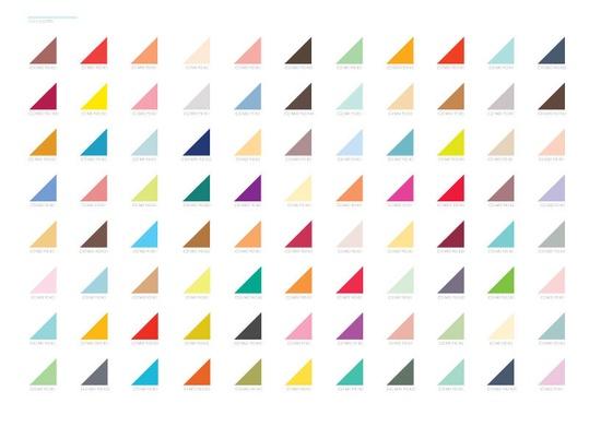Color Palette. Big Print. $42.00, via Etsy.