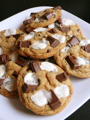 S'mores Cookies...these were SO GOOD