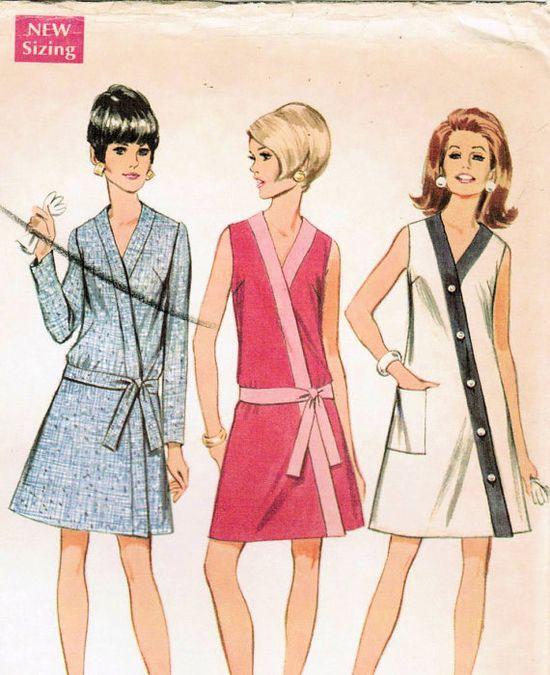 1960's Mod Dress pattern