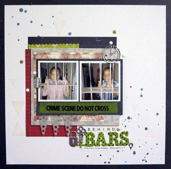 Behind Bars - Scrapbook.com