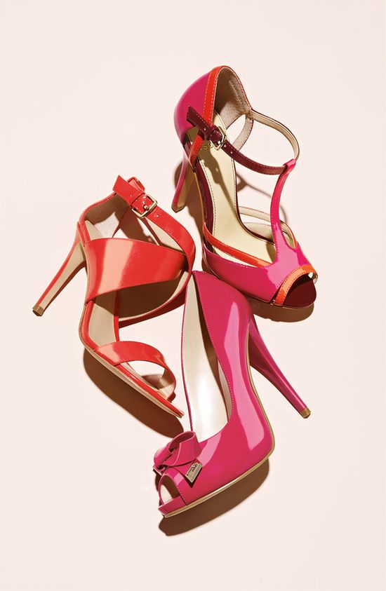 Red + Pink Pumps #Valentine #Nordstrom