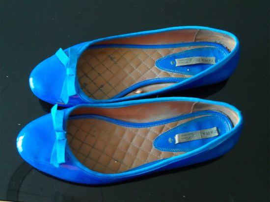 Ballerines Zara Bleu